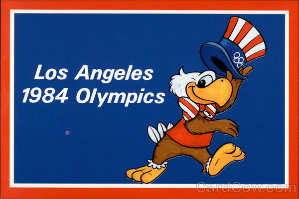 Sam The Olympic Eagle - Los Angeles 1984 Olympics