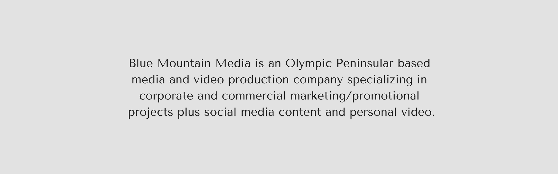 Blue Mountain Media is