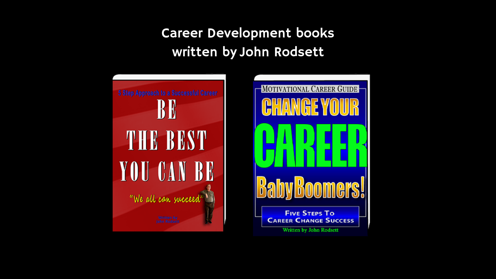 Career Development Books written by John Rodsett (2)